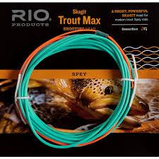 Rio Skagit Trout Max Shooting Head Fly Line 11 300 Grain 4wt