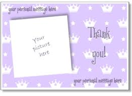 free thank you greeting cards printable photo thank you card templates personalized thank you