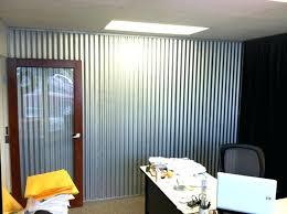 corrugated wall wood