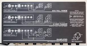 bose 802 controller. bose 802 controller -
