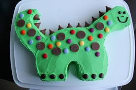Dinosaur Birthday Cake Whats Cooking On Planet Byn