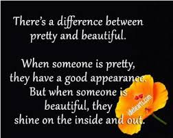 Pretty Beautiful Quotes Best of Daily Quotes There's A Difference Between Pretty And Beautiful