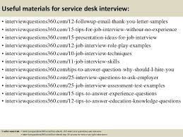 Interview Questions For Help Desk Top 10 Service Desk Interview Questions And Answers