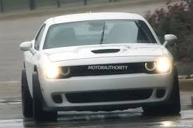 2018 chrysler challenger. exellent challenger 2018 dodge challenger adr widebody srt hellcat spy shots  image via for chrysler challenger