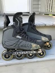 Mission Asx Sr Hockey Skates Rollerblades Skate Size Us 9 5