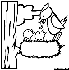 Small Picture Spring Online Coloring Pages Page 1