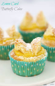 Lemon Curd Butterfly Cakes Classic Recipe Bake Play Smile
