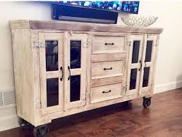 industrial media furniture. we were on the hunt for a big media cabinet and found this vintage industrial style with antique white finish itu0027s been big lovefest they love tv furniture