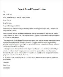 Proposal Letter For Employment Best 48 Business Proposal Letters In Doc Sample Templates