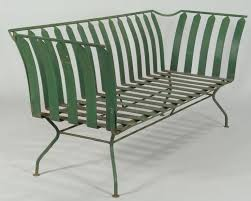 art deco outdoor furniture. lot 589 french art deco patio furniture settee outdoor o