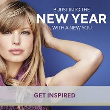 burst into the new year with a new you
