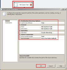 Create A Directory Welcome To Techbrothersit Ssis How To Create Folder With