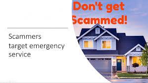 garage door scammers