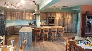 Custom Rustic Kitchen Cabinets Barn Wood Furniture Rustic