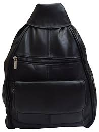 women fashion genuine leather travel convertible backpack purse w cellphone pock