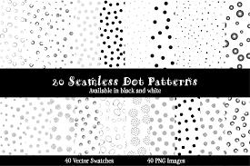 Dot Patterns Mesmerizing Dots Galore 48 Seamless Patterns Hunt Family Design