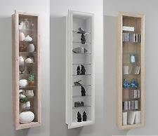 dining room display cabinets ebay. bora wall mounted glass \u0026 wood display cabinet shelving dining room cabinets ebay