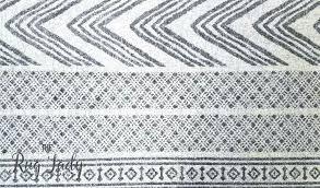 black and white tribal rug mystique grey imprints