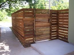 wood fence panels door. Appealing Rustic Wood Fence Designs With Wooden Door Facing Concrete Flooring In Roadside Panels