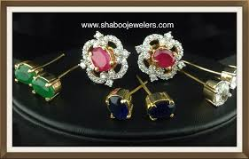 cz tops with changeable stones indian kundan ic and gold jewelry in atlanta and