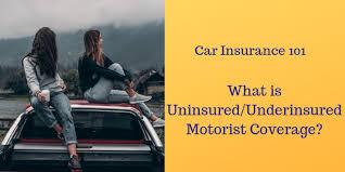 what is uninsured underinsured motorist