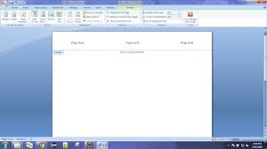 Ms Word Header Java Insert Header Left Center Right In Ms Word Using