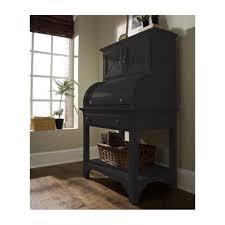 1246b riverside furniture splash of color barrel roll top desk antique black