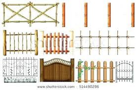 picket fence drawing. Picket Fence Design Style Different Designs  Of Illustration . Drawing /