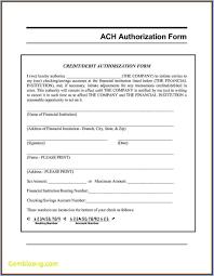 Employee Direct Deposit Authorization Agreement 016 Ach Deposit Authorization Form Template Direct Shocking