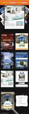 17 best images about house magazine adverts the real estate ultimate flyer design 1