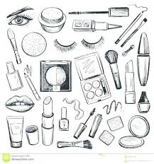 Makeup Coloring Pages 885 Makeup Coloring Pages 5 Impressive Girl