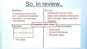 note cards maker vocabulary card anaturner club