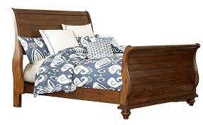 hilale pine island sleigh bed dark pine 1215b bed hilalefurnituremart com