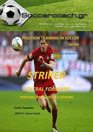 position soccer training striker