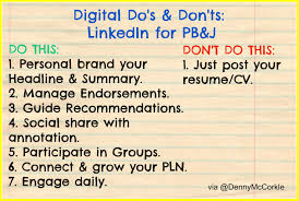 Do S Don Ts When Using Linkedin For Personal Branding Job Search