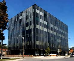 office facade. International Office Facade