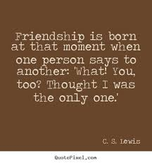 Cs Lewis Quotes On Friendship