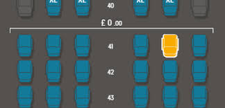 when you ve selected a seat it will turn yellow