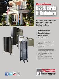 Radiator Baseboard Product Data Sheet | Water Heating | Heat Transfer
