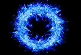 Blue Fire Ring 4k, HD Creative, 4k ...