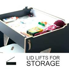 kids lap desk children with storage lift top modern furniture fair and pillow wit