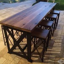 bar height outdoor dining table bar height outdoor dining table set bar within amazing bar height
