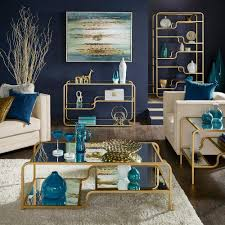 Giana Champagne Gold Mirrored Shelves Accent Tables by iNSPIRE Q Bold -  Free Shipping Today - Overstock.com - 21887301