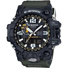 "oversized watches large oversize watches watch shop comâ""¢ mens casio g shock premium mudmaster compass alarm chronograph radio controlled watch gwg 1000"