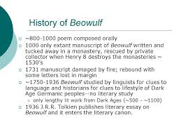beowulf the germanic tribes in scandinavia th th c ppt  history of beowulf  ~800 1000 poem composed orally  1000 only extant manuscript