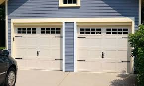 Carriage Garage Door Carriage Garage Door In A Bi Fold Configuration