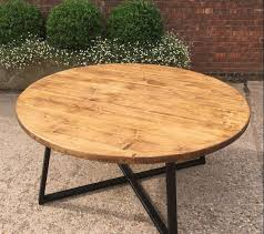 New Industrial Style Round Table North Warwickshire