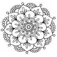 картинки на рабочий стол онлайн černobílé Obrázky Mandalas