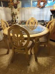 english antique round table 4 chairs fresno