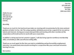 Career Fair Thank You Letter - Bingo.raindanceirrigation.co